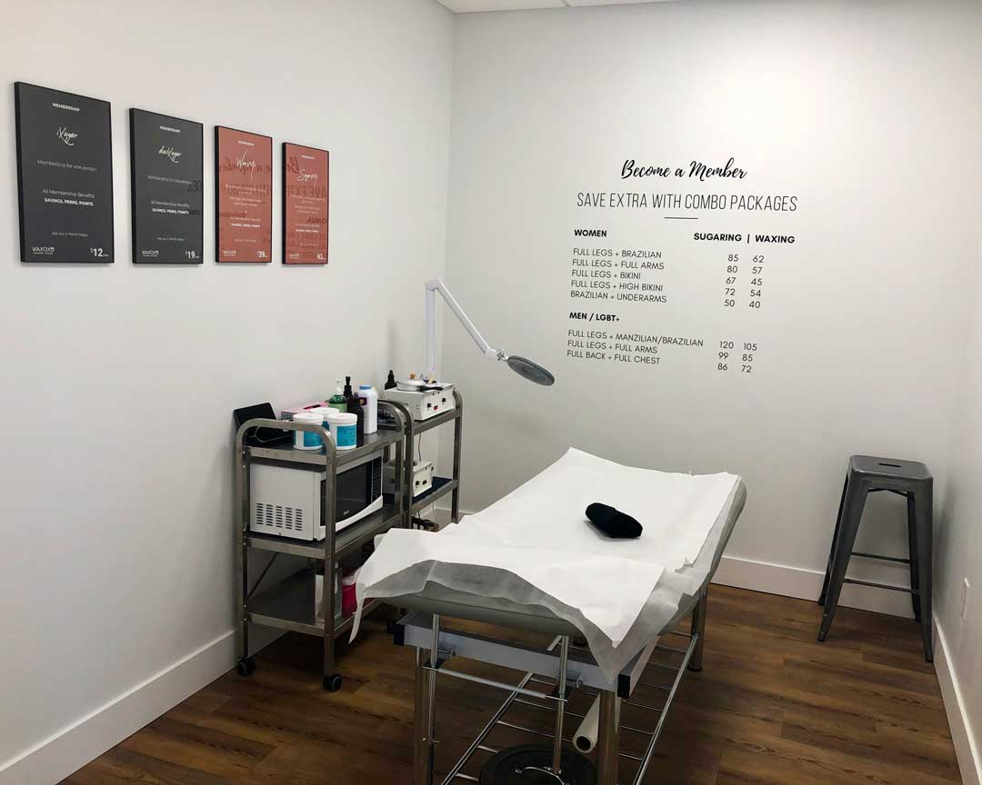 WAXOXO Waxing and Facial Room