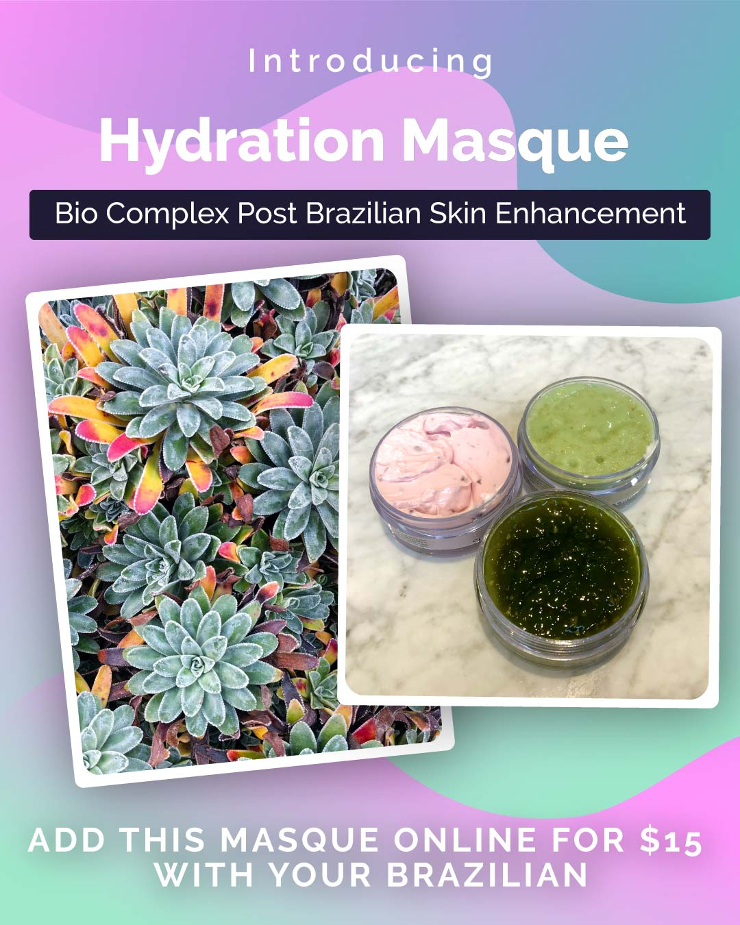 Brazilian Bi COmplex Hydration Mask - Post Brazilian Mask