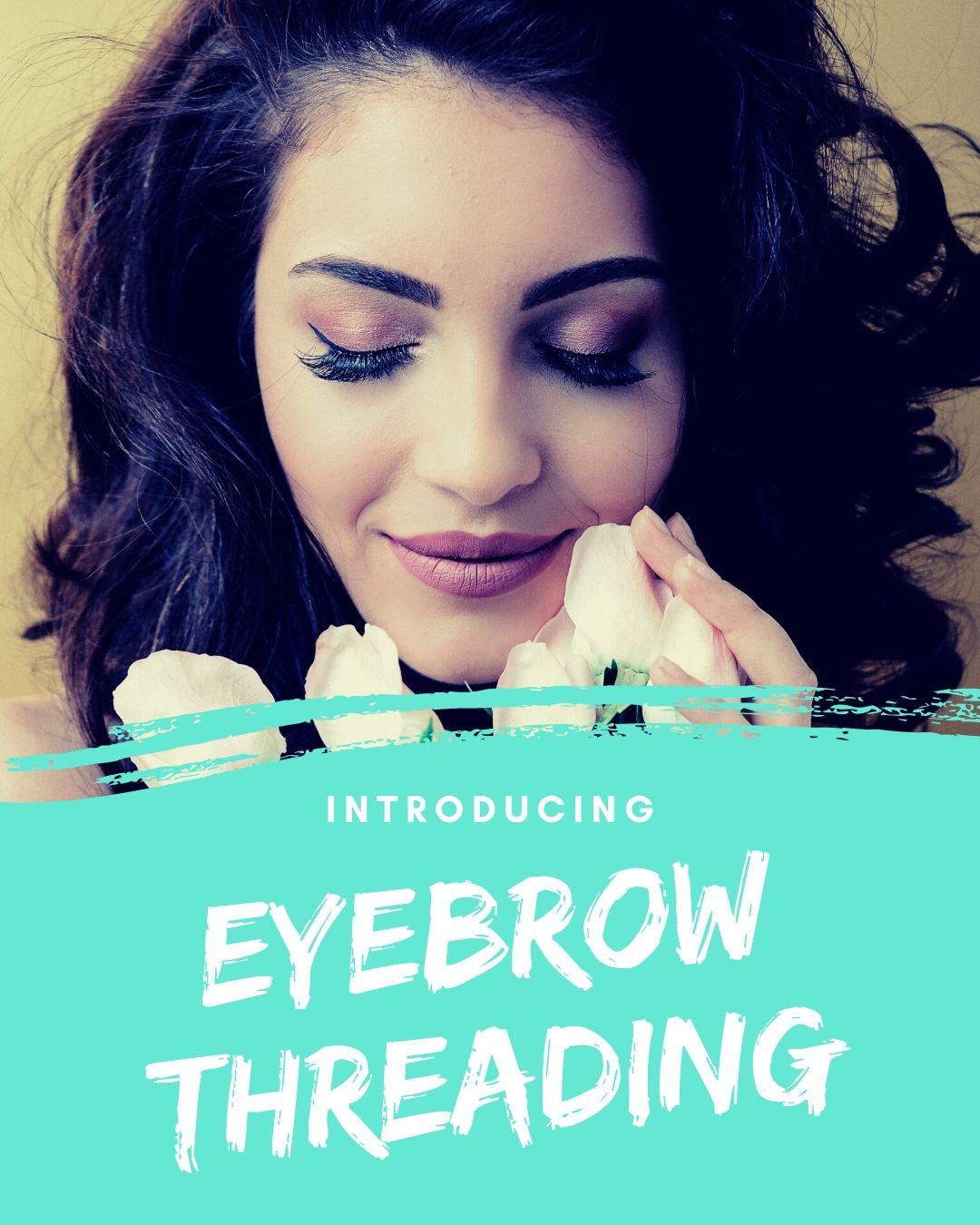 Introducing eyebrow threading at waxoxo sugaring waxbar
