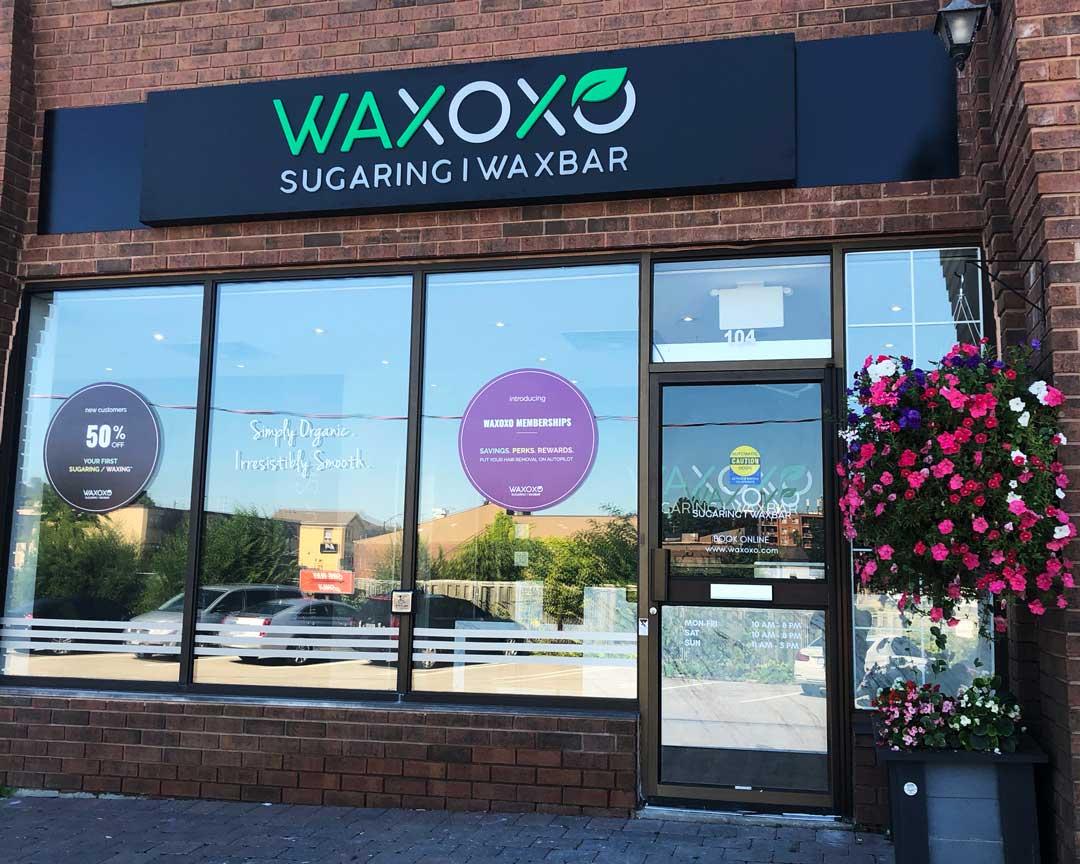 WAXOXO Shop Front