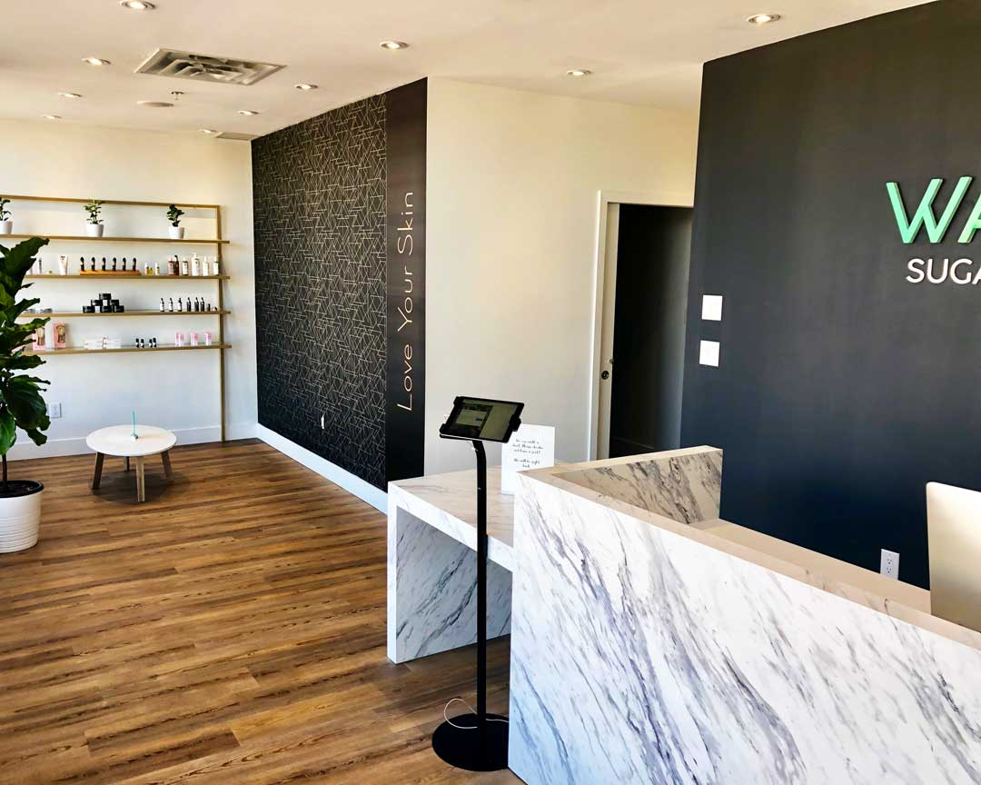 Front Reception Area WAXOXO Sugaring WaxBar