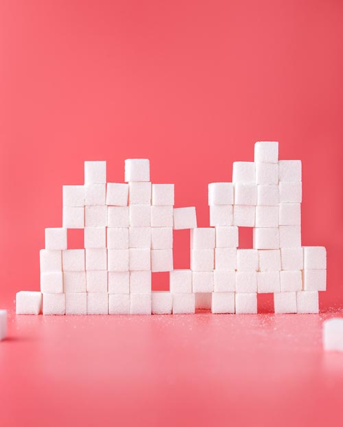 Sugar is really bad for your skin and it should be avoided - Sugar Cubes 500px